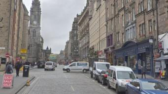 улица в Эдинбурге