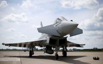 истребитель ВВС Великобритании