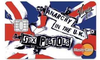 кредитка Sex Pistols