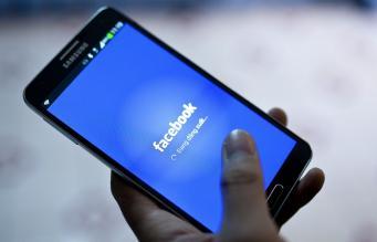 Приложение Facebook для смартфона