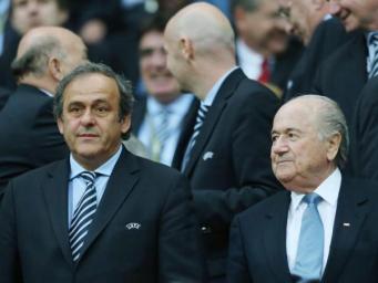 Президенты ФИФА и УЕФА