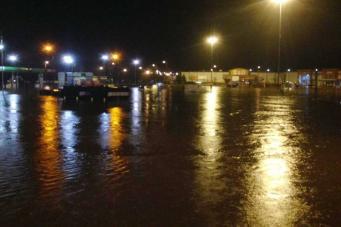Потоп на Квинс-драйв в Килмарноке