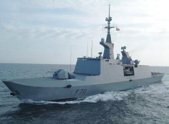 Французский фрегат ВМС «Сюркуф»  вошел в Черное море
