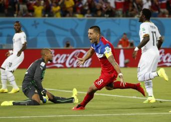 Сборная США по футболу и сборная Ганы, быстрый гол Чемпионата мира по футболу