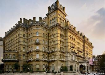 Langham Hotel открылся 150 лет назад