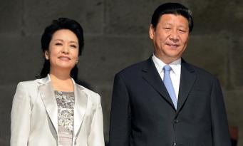 Си Цзиньпин с супругой
