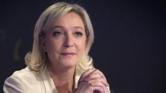 """Мари Ле Пен, лидер """"Национального фронта"""", Франция"""