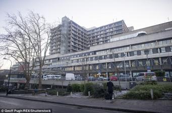 Royal Free Hospital в Лондоне
