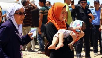 Беженцы Мосула, фото: REUTERS