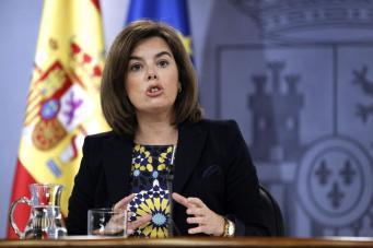 Вице-премьер Испании Сорайя Саенс де Сантамария