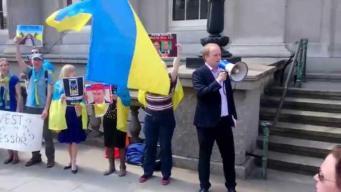 Украинцы в Лондоне устроили коридор позора инвесторам