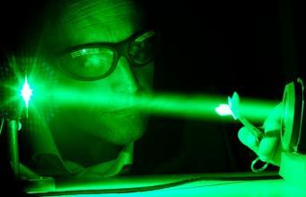 Разработка лазера