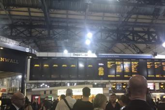 сбой на вокзале Виктория
