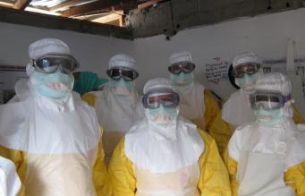 Работа с вирусом Эбола