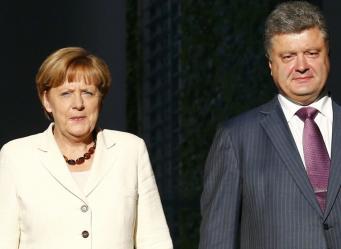 Между лидерами  Германии и Украины состоялись телефонные переговоры