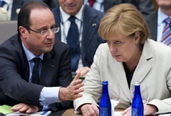 Меркель и Олланд