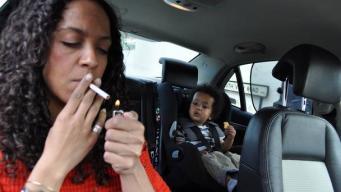 курение в личном автомобиле