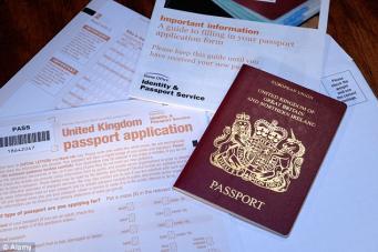 заявление на паспорт