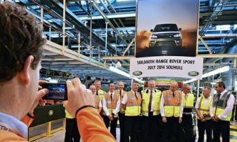 500 000-ный спортивный Land Rover