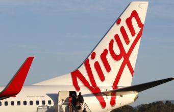 Самолет компании Virgin Airlines