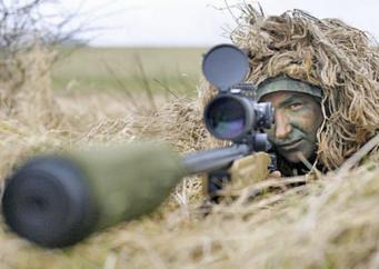 Британский снайпер одной пулей убил шесть афганских боевиков