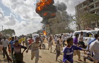 Взрыв в Сомали