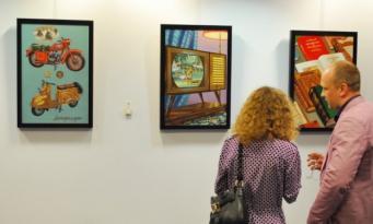 Картины Елены Худяковой в Лондоне