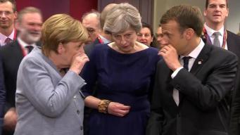 Меркель, Мэй и Макрон