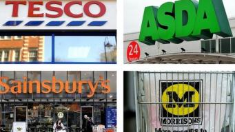 сновные сетевые супермаркеты в Великобритании
