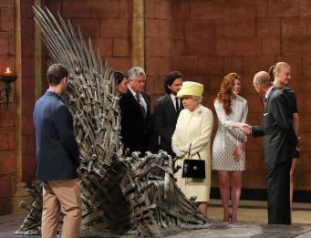 Елизавета II в Белфасте