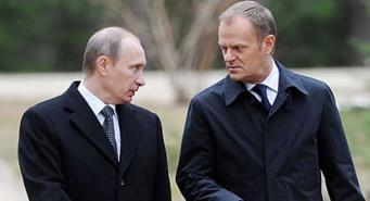 Туск и Путин