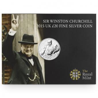 Монета в честь Уинстона Черчилля