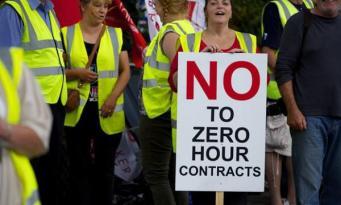 Британский рынок труда насчитывает рекордное число нулевых трудовых контрактов