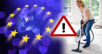 Новые правила ЕС запретят продажу мощных электроприборов