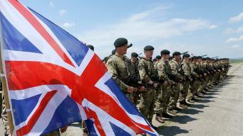 солдаты Британии