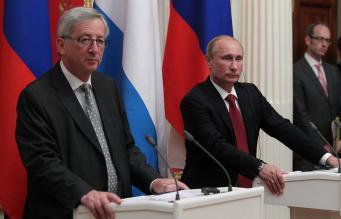 Юнкер - Путин