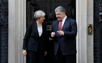 Мэй и Порошенко