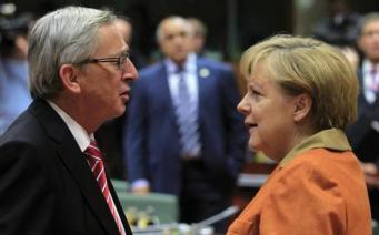 Меркель и Юнкер