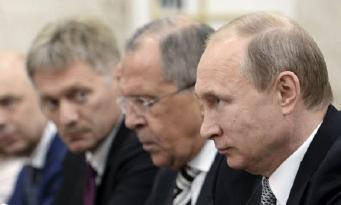 Песков, Путин, Лавров
