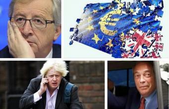 Юнкер обвинил лидеров Brexit в бегстве