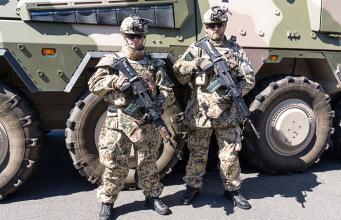 Немецкая армия у российских границ