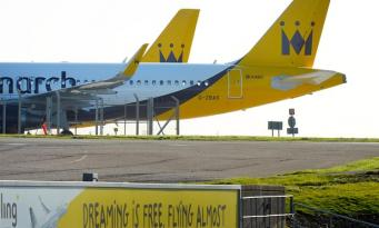 Профсоюз подал в суд на разорившуюся авиакомпанию Monarch фото:theguardian
