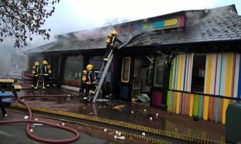 Пожар в Лондонском Зоопарке: пострадали люди и животные
