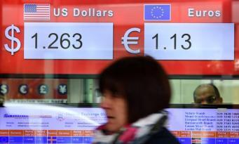Фунт снижается к евро тринадцатый день подряд