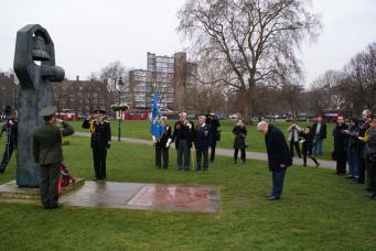 Советский военный мемориал в Лондоне