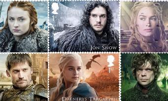 Royal Mail отметила серией марок новый сезон «Игры престолов»