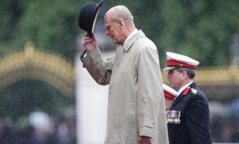 Принц Филипп принял свой последний парад фото:theguardian