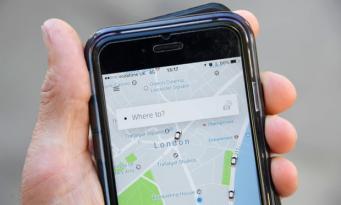 Uber в Лондоне добавил в приложение информацию об общественном транспорте