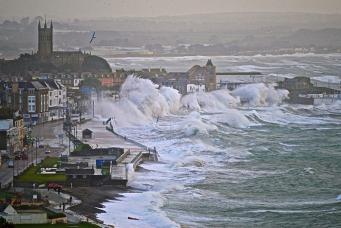 Последствия шторма Дорис в Англии