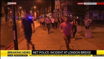 Крупный инцидент в центре Лондона